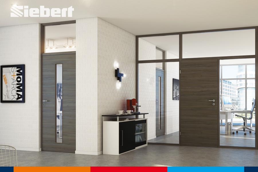 Innentüren für eine helle Raumgestaltung von Siebert